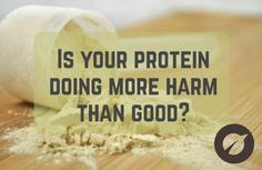 Is your protein doing more harm than good?  Protein powder is the biggest selling sports supplement on the planet. The market is saturated with hundreds of brands each claiming to be the best – but how many of them really live up to the promises?  We take a look at this issue over on our blog...