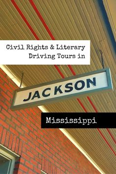 """The """"City with Soul"""" has a rich and diverse history. Design your itinerary with these free Civil Rights and literary driving tours in Jackson, Mississippi."""