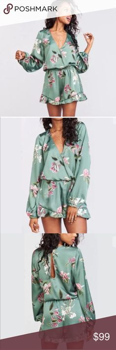 Show Me Your Mumu Rocky Romper Show Me Your Mumu Rocky Flora Romper in Laura Flora print  Size Medium   This is a brand new item with tags! Bundle up to save more. Offers always welcomed! Show Me Your MuMu Shorts