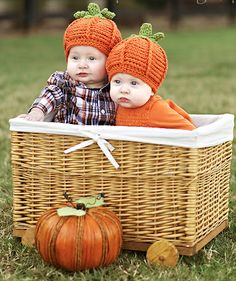 Want to get a picture of the babies like this!  Fall activities for families with little ones