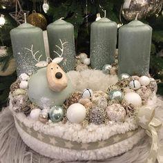 Handmade Christmas Decorations, Rustic Christmas, Xmas Decorations, Winter Christmas, Christmas Gifts, Holiday Decor, Mery Crismas, Advent Wreath, Winter Love