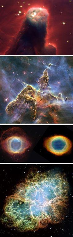 Space telescope photos