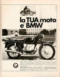 Pubblicità anni 70 BMW