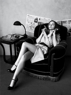 Smoking - Christina Ricci for Vogue