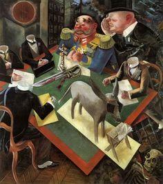 Eclipse of Sun by George Grosz in German Expressionism. Critique of Weimar Germany. Max Ernst, Anita Berber, Art Soleil, Art Dégénéré, Ludwig Meidner, George Grosz, New Objectivity, Max Beckmann, Art History