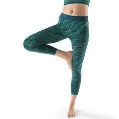 GROUPE 1 Yoga - Legging YOGA+ 500 sans couture DOMYOS - Yoga Vetement Yoga  Femme de847f1fa63