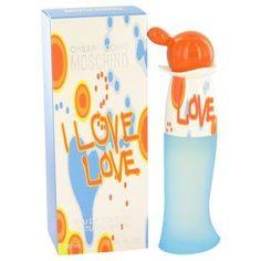 I Love Love By Moschino Eau De Toilette Spray 1 Oz