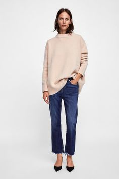 6b996b90d508c0 Image 1 of LIMITED EDITION CASHMERE SWEATER from Zara Cashmere Sweaters