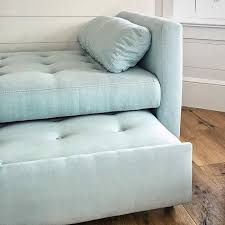 Image result for slipcovered backless daybed with trundle
