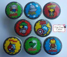 8 SUPERHEROS Knobs Kawaii m2m Bedding Kids Nursery Room Drawer Pull Kids Decor boys girls by Pinksugarcouture on Etsy https://www.etsy.com/listing/219209202/8-superheros-knobs-kawaii-m2m-bedding