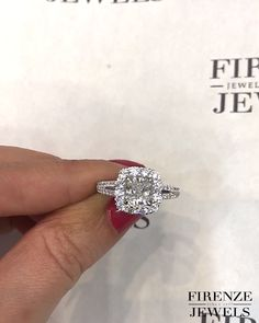 Engagement Ring Settings, Halo Engagement, Wedding Rings For Women, Wedding Bands, Halo Setting, Cushion Cut, White Gold, Crystals, Diamond