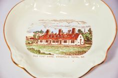 Old Fort Anne Annapolis Royal Nova Scotia by StarfishCollectibles, $9.00