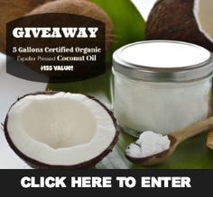 Giveaway: 5 Gallons of Organic Coconut Oil ($155 Value) | The Mommypotamus |