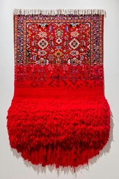 Magic carpets: the art of Faig Ahmed's melted and pixellated rugs / Virgin, 2016.