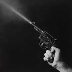 Gun Blast - Robert Mapplethorpe