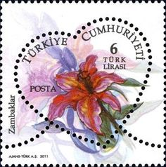 Buy and sell stamps from Turkey. Meet other stamp collectors interested in Turkey stamps. Sell Stamps, Stamp Catalogue, Postage Stamp Art, Flower Stamp, Stamp Collecting, Mail Art, Flora, Lily, Prints