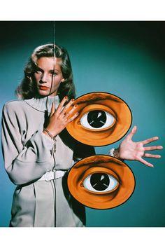 eye see Lauren Bacall