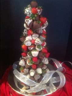 Image result for strawberry topiary