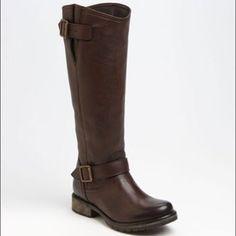 Steve Madden Fairmont Tall Brown Boots