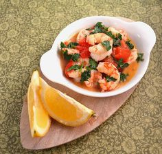 #HealthyRecipe - Light, Lemony & Garlicky Shrimp with Cherry Tomatoes & Fresh Herbs | MBSIB: The Man With The Golden Tongs Goes All Out On H...