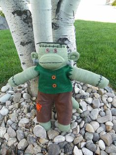 Frankenstein Monster Sock Monkey