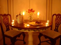 Candlelight Dinner.....