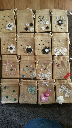 Earring gift bags