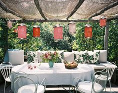Relaxing Outdoor Dining - love it! - #ditalu