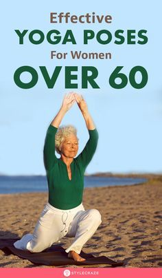 10 Daily Yoga Poses For Women Over 60 - Benefits And Tips Yoga has several benefits like improved flexibility, more bone strength, and sharp memory. Here are 10 easy yoga poses for women above Yoga Fitness, Senior Fitness, Health Fitness, Health Yoga, Yoga Inspiration, Yoga Quotidien, Yoga For Seniors, Ashtanga Vinyasa Yoga, Iyengar Yoga