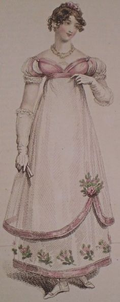 Choosing Fabrics for Regency Ball Gowns by Historicalsewing.com