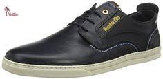Pantofola d'Oro  Vigo Uomo Low, chaussons d'intérieur Homme -Bleu (Dress Blues 1005) 46 EU - Chaussures pantofola doro (*Partner-Link)