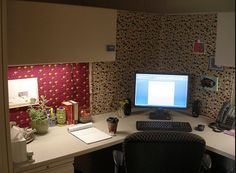 Haleigh's blog: Office Cubicle Decorating: Thrifty Ways to Make Your Cubicle Cozy... just collecting some ideas - just in case that job offer comes in!