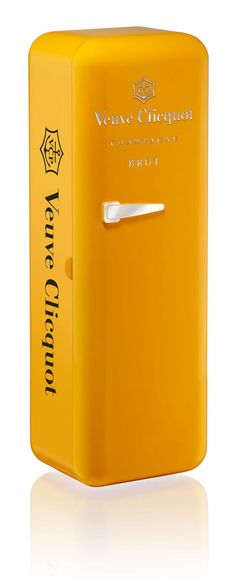 Veuve Clicquot Fridge   Packaging of the World: Creative Package Design Archive and Gallery