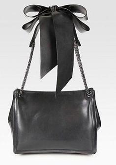 d354277253bd  P Christian Louboutin Artemis Leather Bow   Chain Shoulder Bag. Veronica  Gros · Women s Bags   Handbags