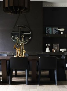 Luxurious Black Interior