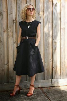 Sew Tessuti - The Pia Dress Pattern