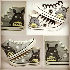 Totoro shoes! Ghibli! I love it!