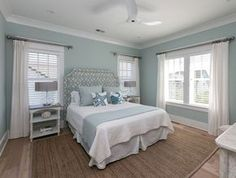 serene coastal bedroom Mahshie Custom Homes Coastal Master Bedroom, Coastal Bedrooms, Master Bedroom Design, Home Bedroom, Bedroom Decor, Bedroom Ideas, Bedroom Designs, Bedroom Beach, Master Bedrooms