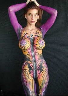 italy+women+fit | very hot body painting girls football - Celebrity Body Painting ...
