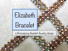 Overflow - Seed Bead Tutorial 2 Elizabeth I Bracelet Simple Upscale Decorating Tips Decorating has c Beaded Bracelets Tutorial, Handmade Bracelets, Diy Bracelet, Earrings Handmade, Jewelry Bracelets, Jewellery, Beading Tutorials, Beading Patterns, Fusion Beads