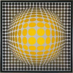 Vasarely #OpArt | www.StyleFeelFree.com