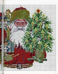 100% _ponto_cruz: Christmas