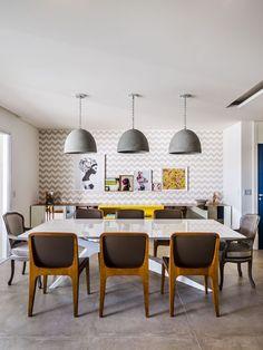 Decoração de parede: 20 ideias fáceis e charmosas (Foto: Divulgação) Interior Exterior, Interior Design, Home And Living, Living Room, Dinner Room, Dining Decor, Decoration, My Dream Home, Decorating Your Home