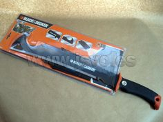 Machete multifunción Black & Decker ® (4 en 1) Ref.: 33621 - Serrar, Podar, Desbrozar, Cortar www.jsvo.es