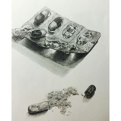 @sssu_ee 3d Drawings, Realistic Drawings, Drawing Sketches, Pencil Drawings, Collage Drawing, Object Drawing, Still Life Drawing, Figure Sketching, Ap Art