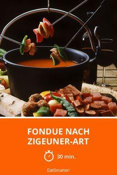 Fondue nach Zigeuner-Art - smarter - Zeit: 30 Min. | eatsmarter.de