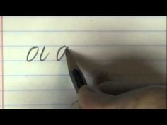 HOW-TO CALLIGRAPHY WITH A PENCIL....by KEN BROWN. This is fantastic, just a pencil and a piece of lined paper.