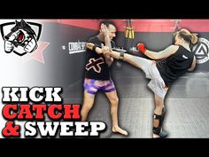 nice Ways to Catch Kicks & Sweep: Muay Thai Seminar w/ Kevin Ross