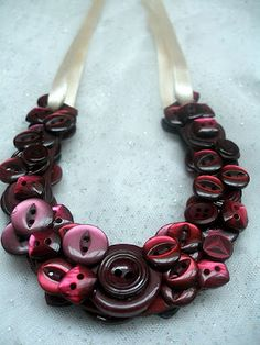 Pretty Button Necklace