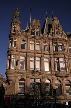 Newcastle upon Tyne mansion in the UK. #house